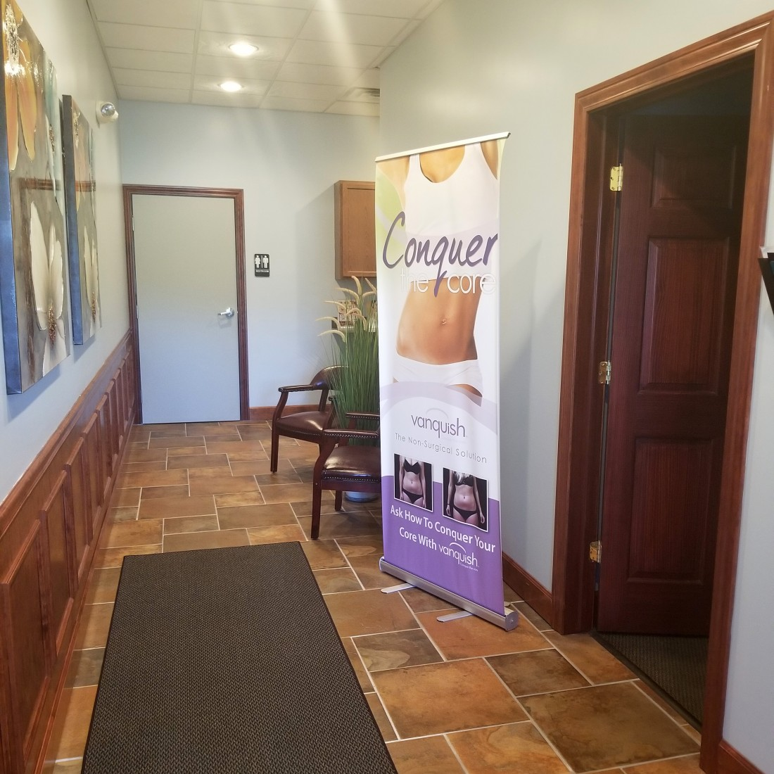Licensed Aestheticians & Technicians from PHR Laser Centers - hallway